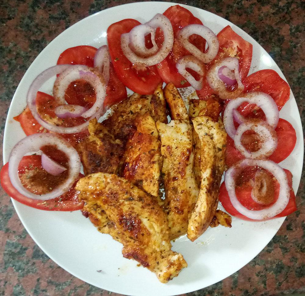 Ζουμερά φιλετάκια στήθους κοτόπουλου