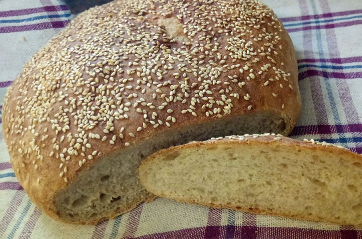 σπιτικό ψωμί συνταγή
