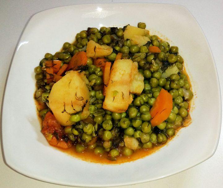 αρακάς-συνταγή