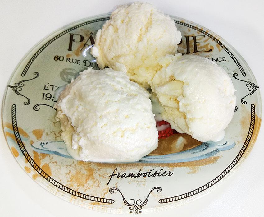 παγωτό-καρύδα